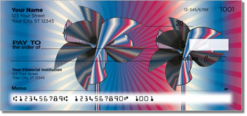 Retro Pinwheel Personal Checks