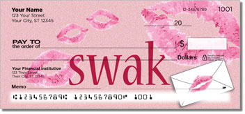 Sealed With a Kiss Personal Checks