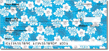 Hawaiian Print Personal Checks