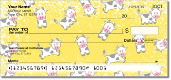 Cute Cow Checks