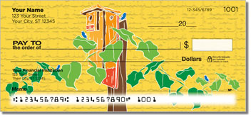Bluebird House Personal Checks