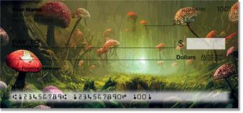 Woodland Toadstool Checks