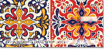 Spanish Tile Checks