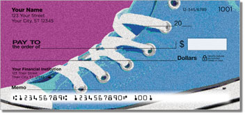 Retro Shoes Personal Checks