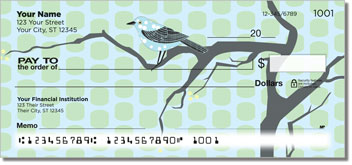 Birds on Branches Personal Checks