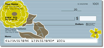 Big Blossom Personal Checks