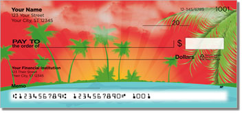 Tropical Getaway Checks