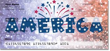 Patriotic Party Personal Checks