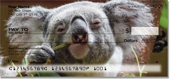 Animals of Australia Personal Checks
