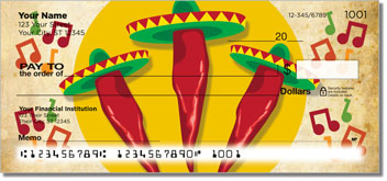 Mexican Fiesta Personal Checks