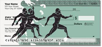 Greek to Me Personal Checks