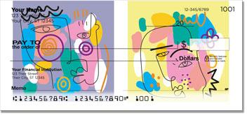 Cubism Art Personal Checks