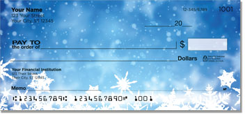 Holiday Snowflake Checks