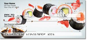 Sushi Roll Personal Checks