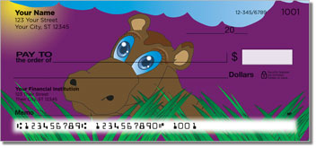 Hungry Hippo Personal Checks