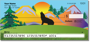 Lone Wolf Personal Checks