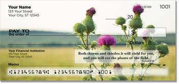 Scripture & Nature Personal Checks