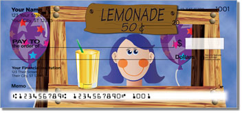 Lemonade Stand Personal Checks