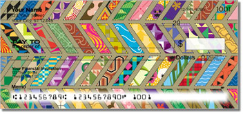 Quilt Pattern Personal Checks