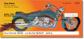 Motorcycle Daydream Personal Checks