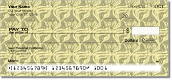 Vintage Wallpaper Personal Checks
