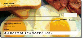 Country Breakfast Personal Checks