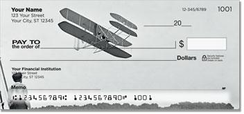 Vintage Plane Personal Checks