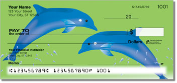 Dolphin Friends Personal Checks