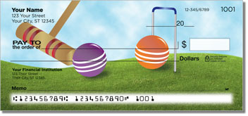 Croquet Personal Checks