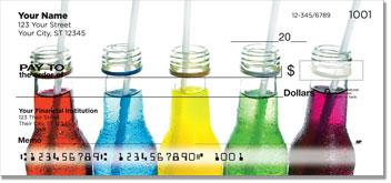 Soda Bottle Personal Checks