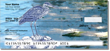 Blue Heron Personal Checks