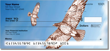 Red-Tailed Hawk Personal Checks