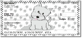 Cute Cat & Dog Personal Checks