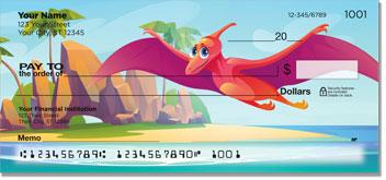 Dinosaur Personal Checks