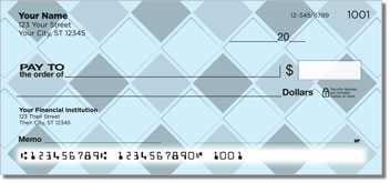 Almost Argyle Personal Checks
