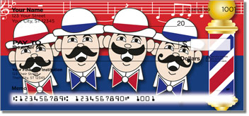 Barbershop Quartet Personal Checks