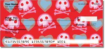 Cute Skull & Crossbones Checks