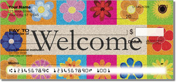 Welcome Mat Personal Checks