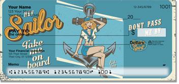 Vintage Pinup Personal Checks
