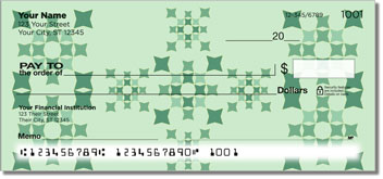 Quilt Square Personal Checks