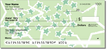 Star Sketch Personal Checks