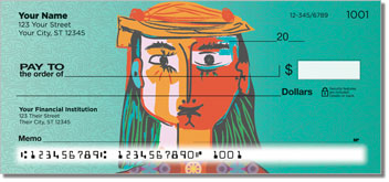 Picasso Portrait Personal Checks