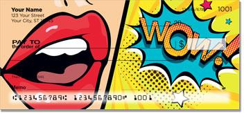 Retro Art Personal Checks