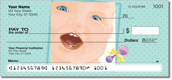 Cute Baby Personal Checks