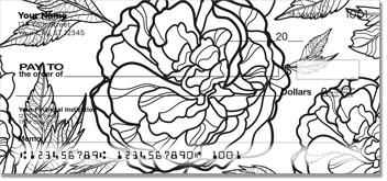 Big Floral Personal Checks