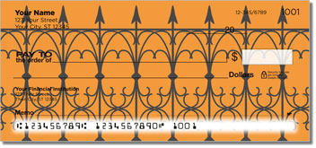 Wrought Iron Fence Personal Checks