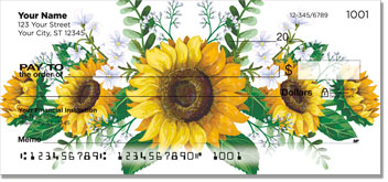 Sunflowers of Peace Checks