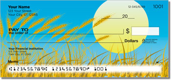 Wheat Field Personal Checks