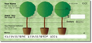 Topiary Personal Checks