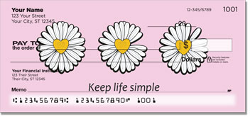 Daisy Design Personal Checks
